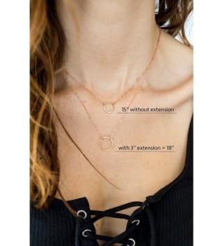 Filled Necklace Bracelet Extender Chain