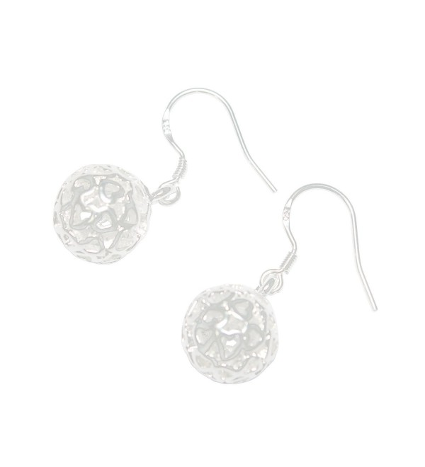 Scheppend Women's Pierced Sterling 925 Silver-plated Ball Earrings - CY11W76J85P