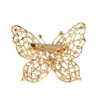 MagiDeal Butterfly Crystal Rhinestone Fashion in Women's Brooches & Pins
