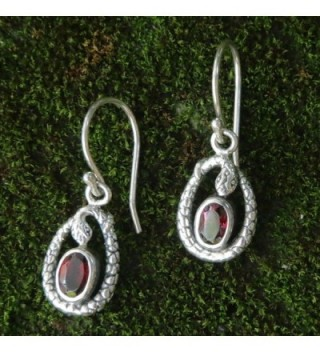 NOVICA Sterling Earrings Rainforest Goddess