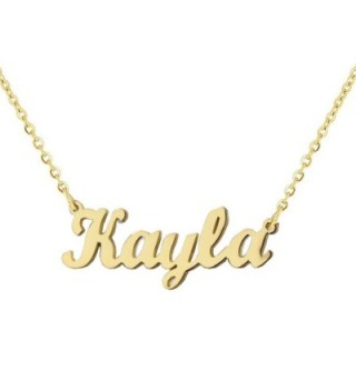 Personalized Stainless Handwriting Signature Customized - Gold Color - C712O29J6R6
