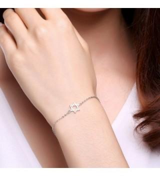 Jewish Bracelet LicLiz Sterling Religion in Women's Link Bracelets