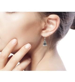 NOVICA Sterling Silver Bell Shaped Earrings in Women's Drop & Dangle Earrings