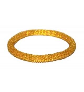 Crochet Glass Seed Bracelet Nepal
