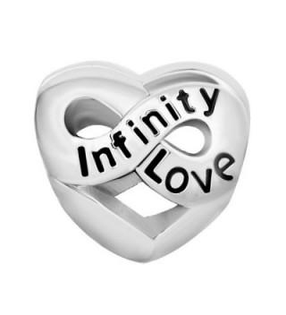 LovelyJewelry Infinity Birthstone Crystal Bracelet in Women's Charms & Charm Bracelets