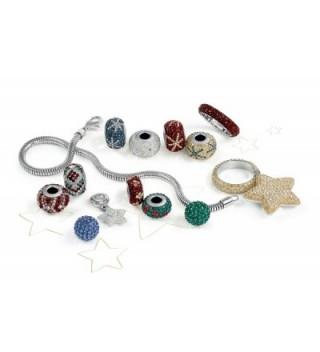Golden Ribbon Bracelet European Charms