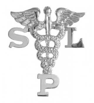 NursingPin - Speech Language Pathologist SLP Graduation Pin in Sterling Silver - CM1173YY73T