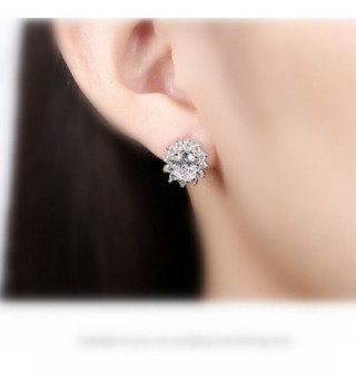 Fashion Jewelry Titanium Crystal Charming in Women's Stud Earrings