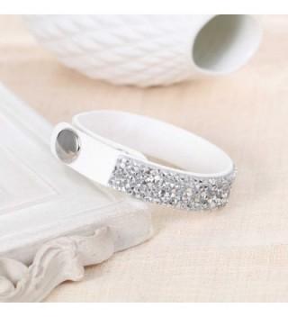 Sexy Sparkles Velvet Bracelet Rhinestones