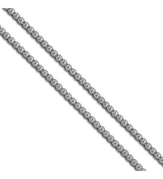 Sac Silver Stainless Steel Box Chain 1.4mm 1.5mm 1.9mm 2mm New Solid Square Link Necklace - CX128T7HPWD