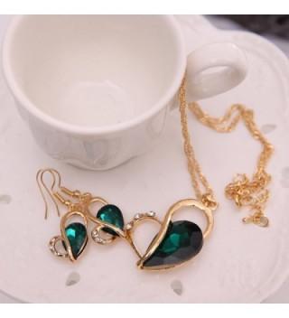 OUFO Necklace Earring Fashion Jewelry in Women's Jewelry Sets