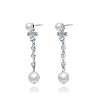 Forever Sterling Silver Teardrop Earrings in Women's Drop & Dangle Earrings