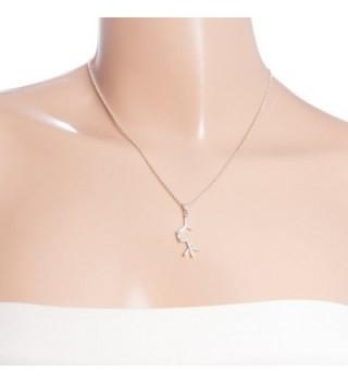 Acetylcholine Molecule Chemistry Necklace Adjustable in Women's Pendants