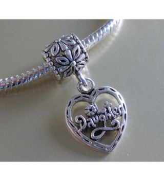 Jewelry Daughter Dangle Charm Bracelet
