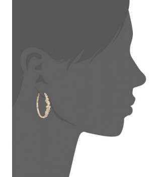 GUESS 410846 21 Stones Hoop Earrings