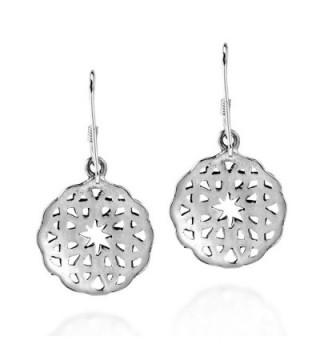 Celtic Sterling Silver Dangle Earrings in Women's Drop & Dangle Earrings