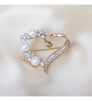 Mothers Presents Gold tone Simulated Brooches