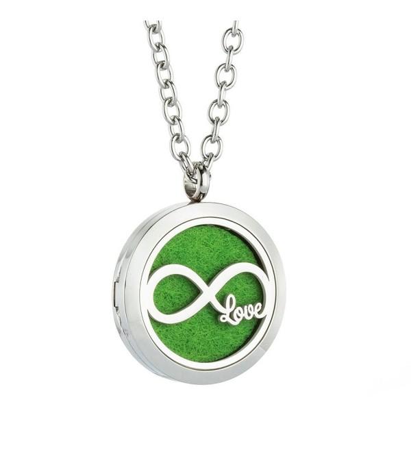 JAOYU Aromatherapy Essential Oil Pendant - essential oil necklace - CG188ISW7XI