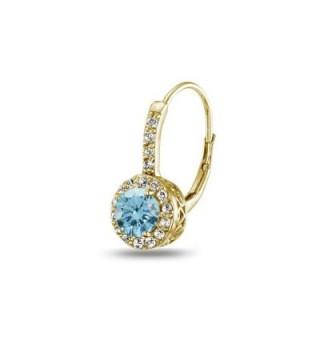 Sterling Leverback Earrings Swarovski Crystals in Women's Drop & Dangle Earrings