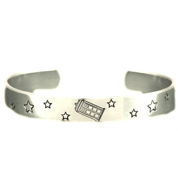 Tardis Bracelet Doctor Who Police Adjustable Aluminum Bracelet - CE11JLVR7C5