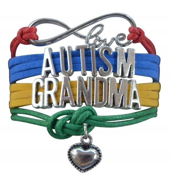 Autism Grandma Bracelet- Autism Awareness Jewelry- Autism Puzzle Piece Bracelet Makes the Perfect Gift - CA12LZWL8SL