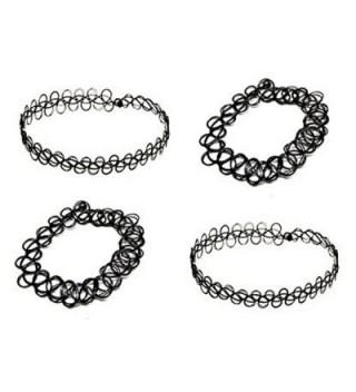 Necklace Bracelet Vintage Jewelry Stretch - Black - CY120GDOZ6H