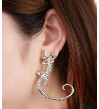 Creazy Crystal Rhinestone Earrings Luxury