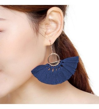 Mefezi Earrings Eardrop Tassel Fringe