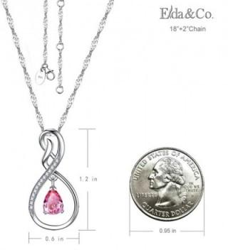 2d497cc55 Anniversary Infinity Teardrop Sapphire Swarovski - Pink Sappire Infinity  Love Necklace - C81872U0UX7; Anniversary Infinity Teardrop Sapphire  Swarovski ...