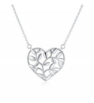 Rosa Vila Heart Tree Branches Necklace - Nature Inspired Necklaces For Women - CR18998CREH