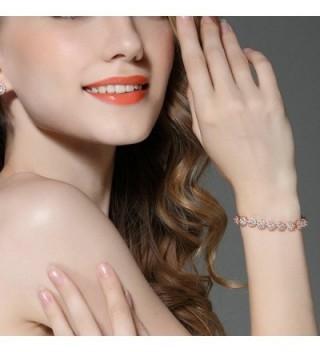Zirconia Bracelets Diamond Jewelry Christmas