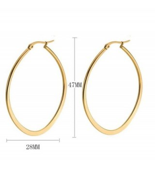 Andyle Stainless Teardrop Earrings Hypoallergenic