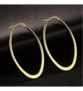 Andyle Stainless Teardrop Earrings Hypoallergenic in Women's Hoop Earrings