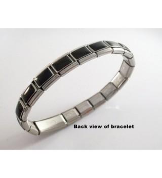 Diabetes Medical Alert Italian Bracelet