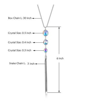 Pendant Necklaces Crystal Fashion Jewelry