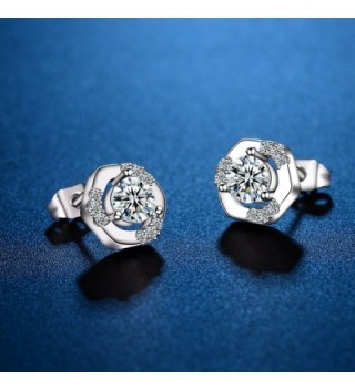 Earrings Classic Zirconia Diamond CONNIE Y in Women's Stud Earrings
