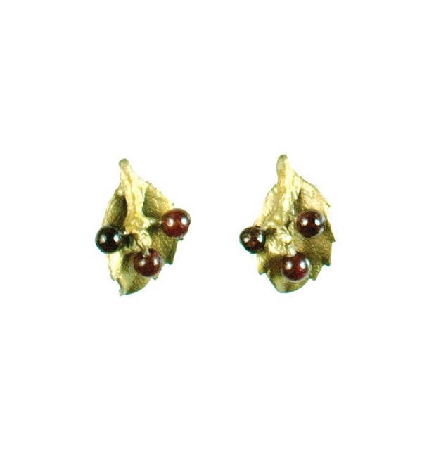 Michael Michaud Retired Holly Post Earrings 4905 BZ Retail Price $48 - C511I7VJIMR