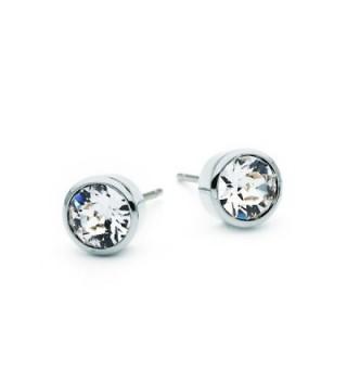 Harley Rhodium Earrings Swarovski Crystals