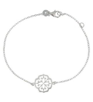 Les Poulettes Jewels - Bracelet Lotus Blossom Sterling Silver - CH11HY5DKOT