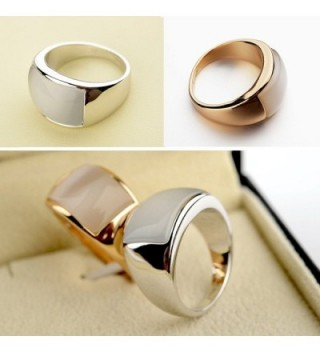 Redbarry Platinum Plated Unisex Cocktail in Women's Statement Rings