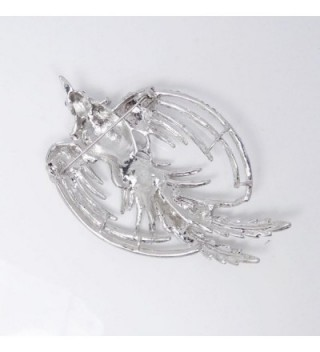 EVER FAITH Austrian Crystal Silver Tone in Women's Brooches & Pins