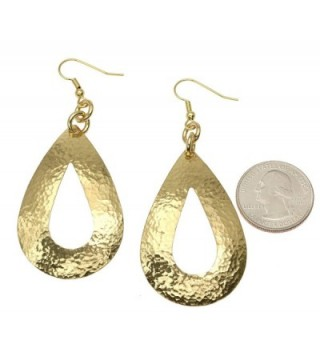 Hammered Earrings John Brana Jewelry