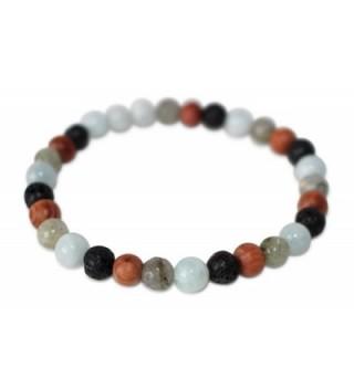 Leboha Essential Bracelet Labradorite Aquamarine