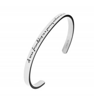 friendship journey without Stainless Bracelet in Women's Cuff Bracelets
