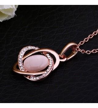 YamaziHD Shining Crystal Pendant Necklace