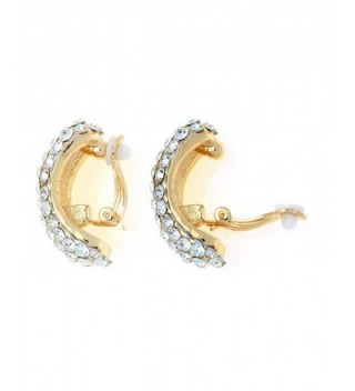 Womens Evening Bridal Wedding Earrings in Women's Clip-Ons Earrings