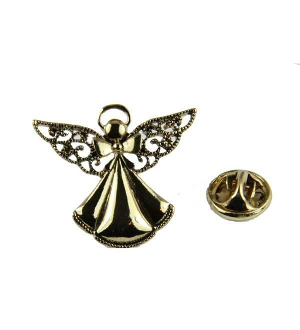 6030733 Angel Lapel Pin Brooch Guardian Angel On My Shoulder Inspirational - CH186Z73XI2