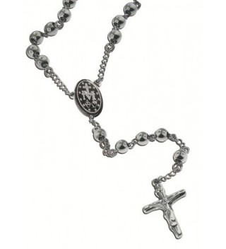 Catholic Stainless Necklace Crucifix Miraculous