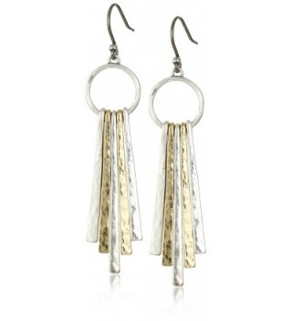 Lucky Brand Womens Metal Paddle Earring - Multi-Color - CZ11HYP1Q4P