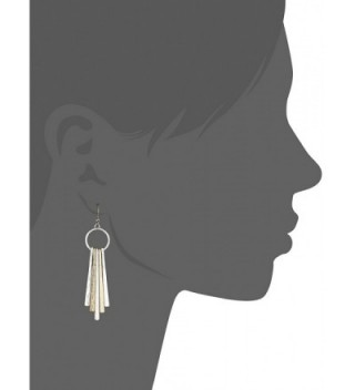 Lucky Brand Metal Paddle Earrings